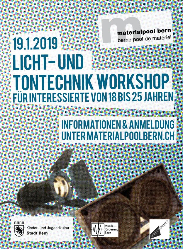 Licht- und Tontechnik-Workshops