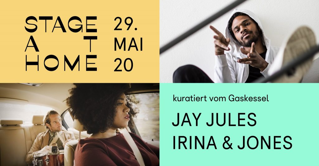 Stage at Home #6: Jay Jules / Irina & Jones